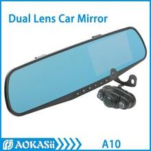 Factory 4.3 inch 170 Degree Full Hd 1080P Dual Lens Car Dvr Mirror