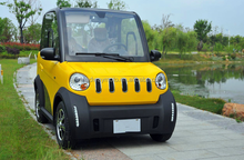 2 seats electric mini car EEC 2016