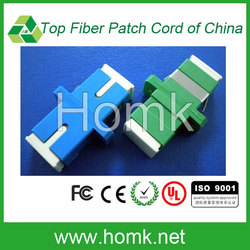 LC female SC male fiber optic adapter