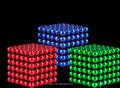 Güçlü neodim mıknatıs 5mm manyetik top- manyetik kaliteli renkli