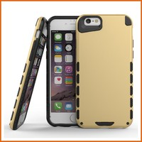 Latest design combo robot armor case for iphone 6