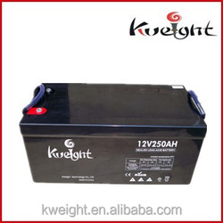 12V maximum capacity lead acid storage battery rechargeable deep cycle battery for solar system