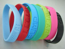 Best selling lots of cheapest silicon braclet,custom personalized rubber wristbands