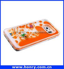 Creative quicksand Coco Dolphin case for Samsung S6 Edge Fashion Hard Phone Case