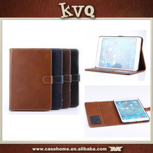 Genuine Real Leather Card Stand Smart Case Cover for ipad mini 2/3 cover