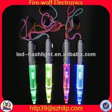 2014 China Supplier New Style Colourful Led Flashing recycled cardboard ball pen