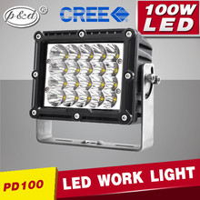 Super brightness 12 volt 100w C REE led work light