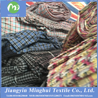 Factory direct sales and affordable!!!yarn dyed cotton fabric for dresses/shirt