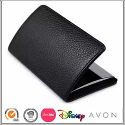 China supplier directly supplying cardholder leather in card holder leather, credit card holder leather