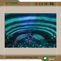 Shenzhen soft curtain rental led programable led video wall xxx videp xx