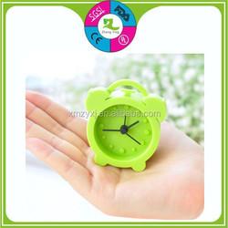 Hot sale mini travel silicone clock, Fashion silicone gifts, Silicone alarm clock