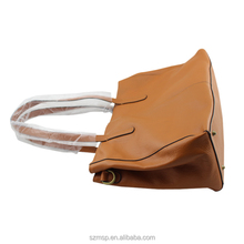 genuine lady leather washed woman handbag,lady shoulder bag original design for famous brand