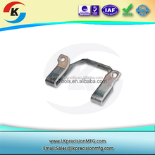 LK passed chrome plated stamped brass parts,stamping and bending parts,sheet metal fabrication stamping parts