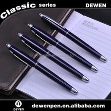 Factory prices Decent metal pen logo laser pen roller pen