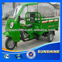 Powerful Crazy Selling closed tank three wheeler tricycle