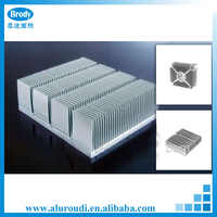 Extruded radiator aluminum ally profiles