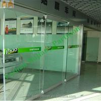 Exhibition Gallery Frameless Sliding Glass Folding Door