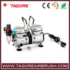 Tagore TG230 portable silent oilless air compressor for airbrush