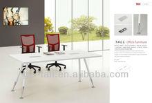 2013 TL-E07 Simple Rectangle MFC white high gloss office meeting desk
