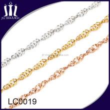 2015 Lastest new gold chain design for women