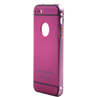 best seller metal phone case and pc phone case for iphone 5s made in mobile phone case factory