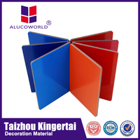 Alucoworld home feeling acp and warm colours metal sheets decorative interior wall cladding for roofing