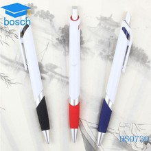 Hot Multi Color Promotional Plastic Click Ballpoint Pen, Cheap Ball Pens