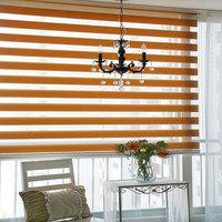 roller zebra fabric blinds for window exterior