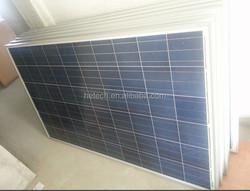 17% efficiency A grade low price 250W Solar panel distributor