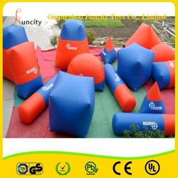 Customized Outdoor Exciting Inflatable Bunkers Games,Air Ball Bunker,Inflatable Bunker
