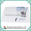 Recyclable printed cardboard presentation file folder a4