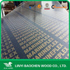 Phenolic board/1220mm x 2440mm x 15mm cheap finger joint film faced shuttering plywood to Northern-African market