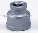 Stainless steel reducing socket banded