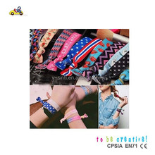 fashionable colorful rubber band for girls