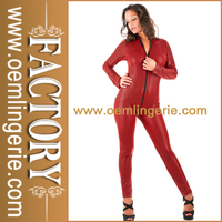 Wholesale Cheap China Red Exotic Fetish Catsuit