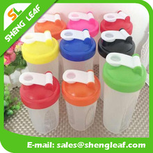 Hot style pp plastic wholesale protein powder shake shake cup can printing custom logo