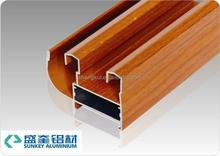 aluminum section Aluminum_Sliding_Window_Profile wooden