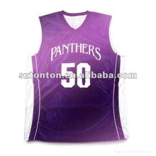 Custom basketball jersey 2012