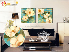 Home goods classical flower canvas paintings