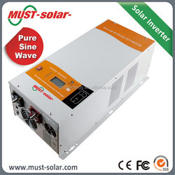 Must automatic 3-stage battery charger 1k- 6k watt low frequency inverter MUST Paskistan/Aferica