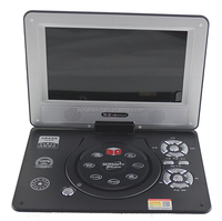 New product 10'' screen portable dvd/evd/vcd player with digital coaxial output 3g game portable evd player