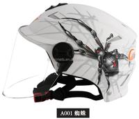 Half face Cheap Cartoon Motorcycle Motobike Motocross Funny Helmets for Sale