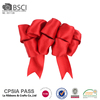 Factory direct wholesale christmas tree packing bow wide wired satin ribbon