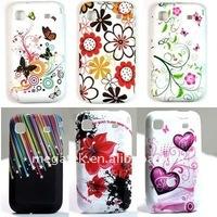 Flower Gel TPU Case for Samsung Galaxy S2 i9100