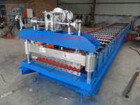 durable high capacity roofing tile machine price / zinc roofing roll forming machine