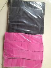 tissue paper confetti , 2*5cm paper confetti ,color paper confetti /flameproof confetti white paper /flameproof konfetti paper