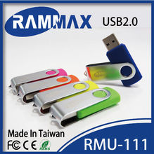 Top selling cheapest colorful twister special usb flash drive with life warranty