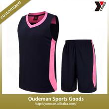 2015 Cheap custom blank basketball jerseys top quality OEM