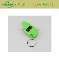 Hottest High Quality Mini Color Optional Digital Tire Gauge Keychain