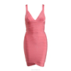 Hot selling fashion red strap bandage dress woman cheap dress
